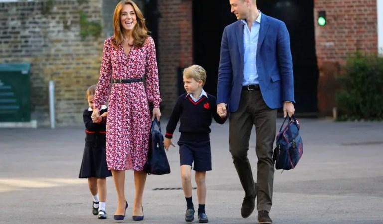 ¡Ni los duques de Cambridge se salvaron! El Coronavirus llegó al colegio de los hijos del príncipe William ??