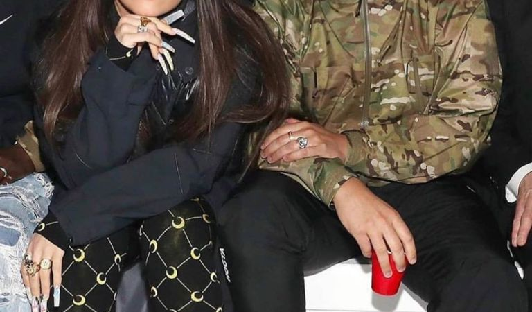 #LaFotoDelDía: Rosalía y Drake pasaron tiempo juntos en el New York Fashion Week    ??
