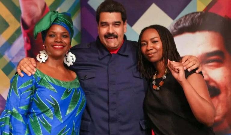 La relación no tan secreta de Black Lives Matter y  Nicolás Maduro