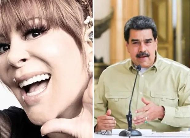 Alejandra Guzmán dijo que escribió una canción con Nicolás Maduro