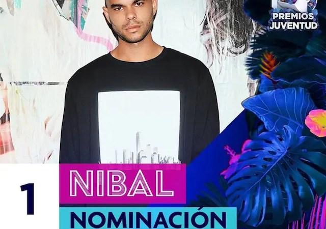 «Pronto nos vemos cuando amanezca»: Nibal recibió su primera nominación a Premios Juventud👏🤩