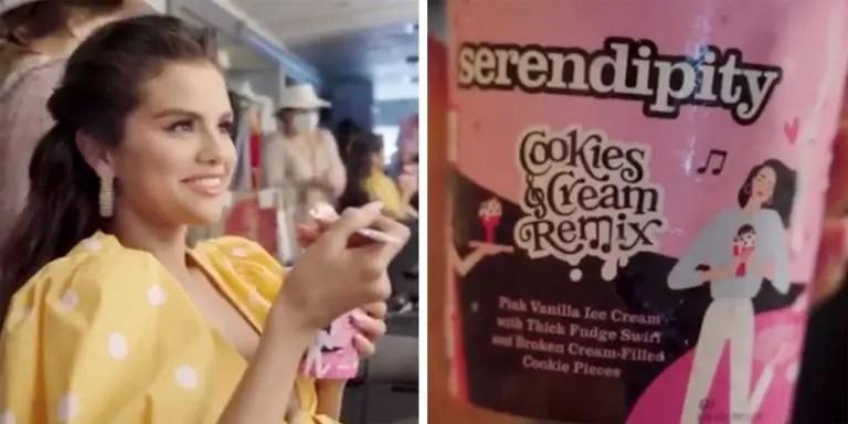 Selena Gomez creó un sabor de helado para promocionar su nueva canción con BLACKPINK