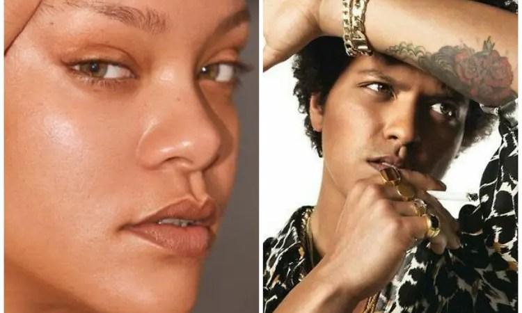 Ya no quiere hacer música: Bruno Mars desea ser modelo para la marca de Rihanna