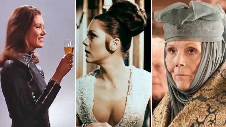 Falleció Diana Rigg, actriz de Game of Thrones y de la franquicia 007