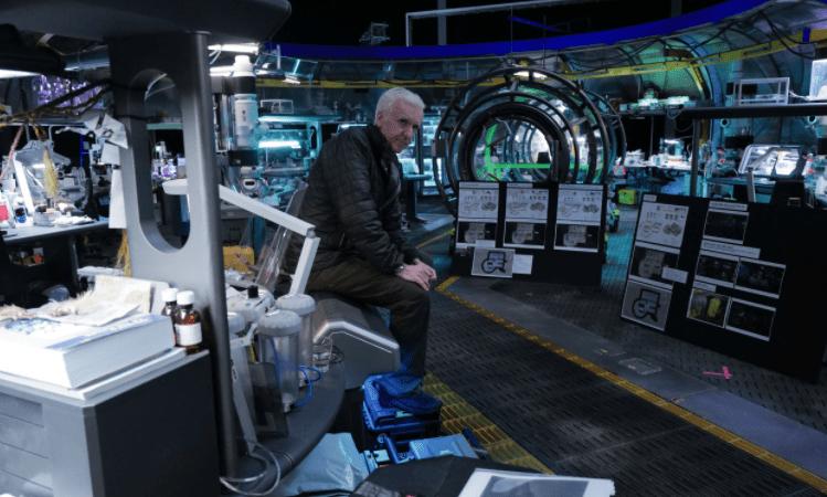 James Cameron comparte nuevas imágenes del set de Avatar 2