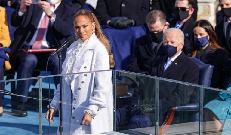 ¡Histórico! Jennifer López habla en español durante su participación en la juramentación de Joe Biden