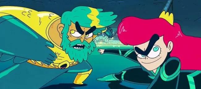 HBO Max estrenó la miniserie animada «Aquaman: King of Atlantis»