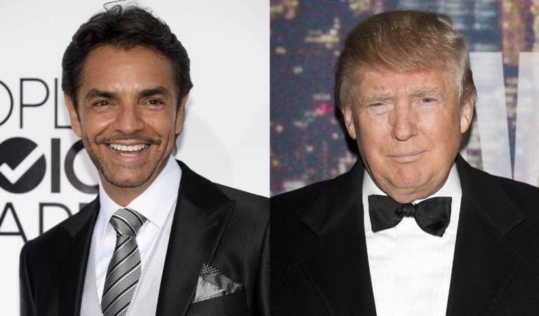 Eugenio Derbez causa polémica al burlarse del color de piel de Donald Trump