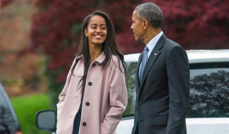 La hija mayor de Barack Obama fue contratada y creará contenido para Amazon Prime 👏😮