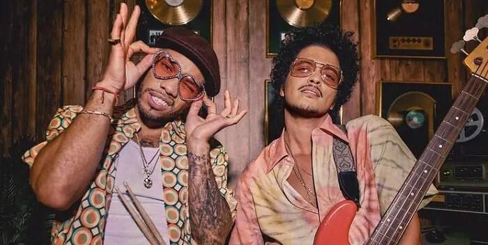 Bruno Mars estrenó el primer tema de su disco con Anderson Paak 💿🙌🏼
