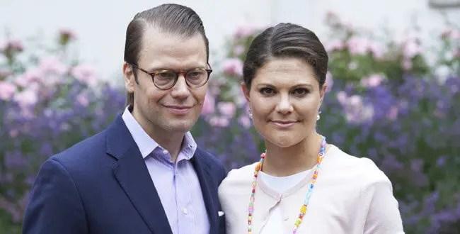 La princesa Victoria de Suecia y su esposo dieron positivo al Covid-19 🥺😷