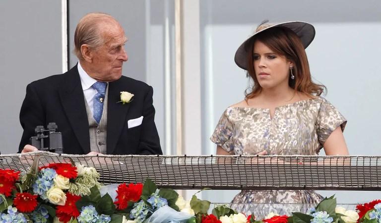 Con una divertida anécdota: Eugenia de York despidió al príncipe Felipe 🖤👑