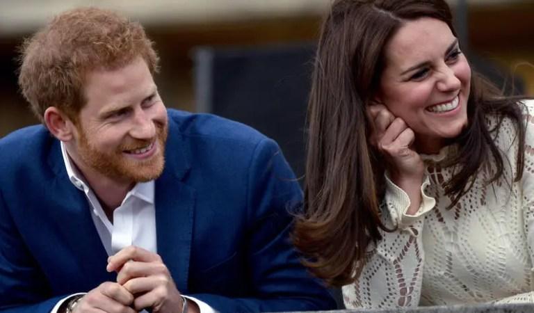 El príncipe Harry y Kate Middleton tenían buena relación, hasta que llegó Meghan Markle 😳😞