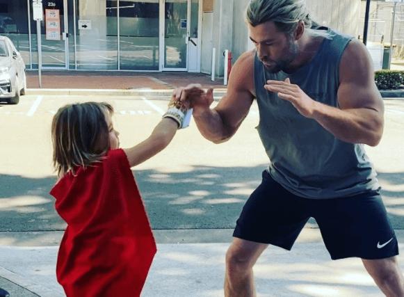 ¡La decepción hermano! Chris Hemsworth reveló que su hijo quiere ser Superman