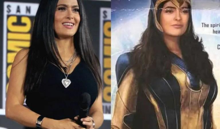 Salma Hayek, de Eternals, nunca pensó que sería elegida para una película de Marvel