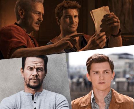 Uncharted: Filtran foto de Tom Holland y Mark Wahlberg como Nathan Drake y Sully