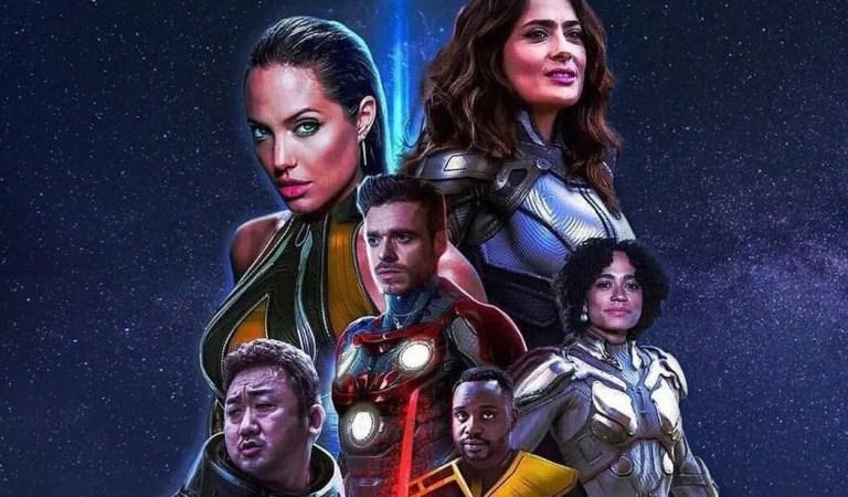 «Eternals»: Marvel estrenó el primer trailer de la película dirigida por Chloé Zhao