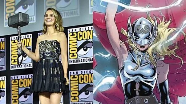 Primer vistazo al traje de Thor de Jane Foster revelado en el merchandising de Thor: Love and Thunder