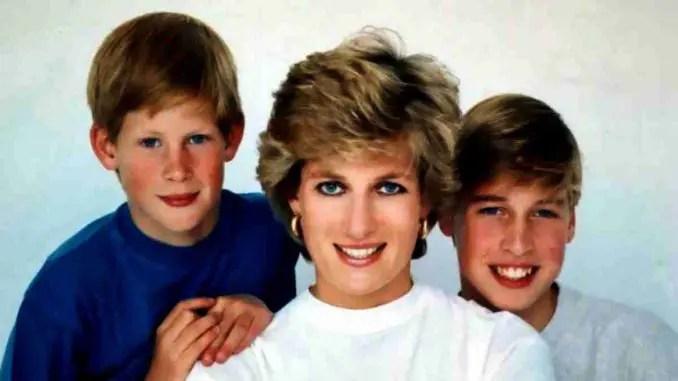 Ante la discordancia entre los príncipes William y Harry, la princesa Diana estaría «desconsolada» 🥺😔