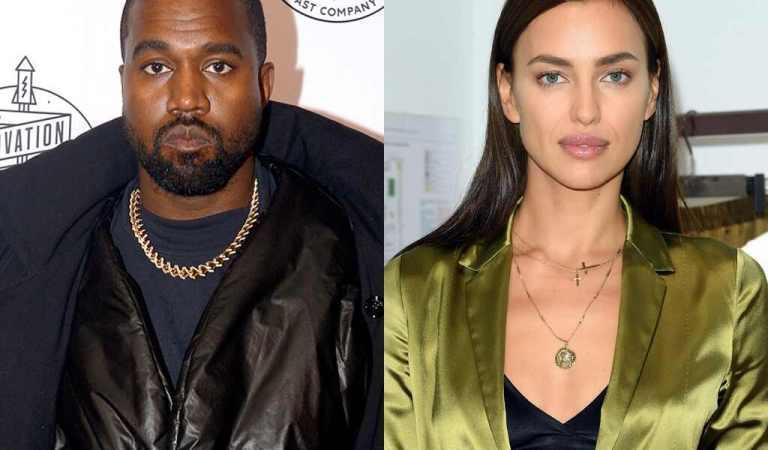 Captan a Kanye West e Irina Shayk de paseo romántico en Francia