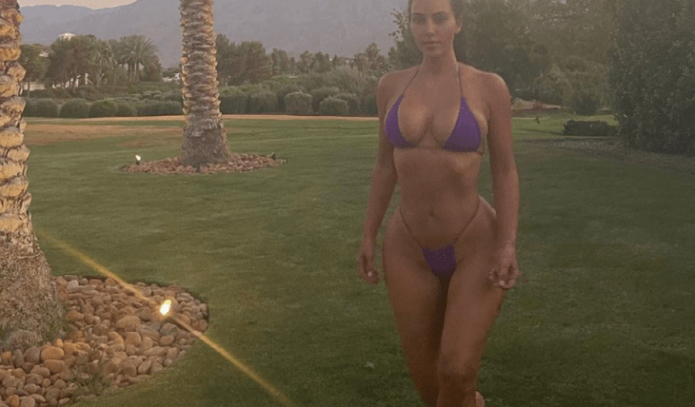 Kim Kardashian con micro bikini y su cuerpo «explotado» paralizó Instagram