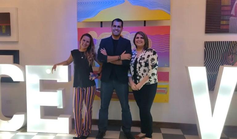 «Conversación entre 3»: Alejandro, Paula y Tatiana presentaron su galería de arte en La Dolce Vita