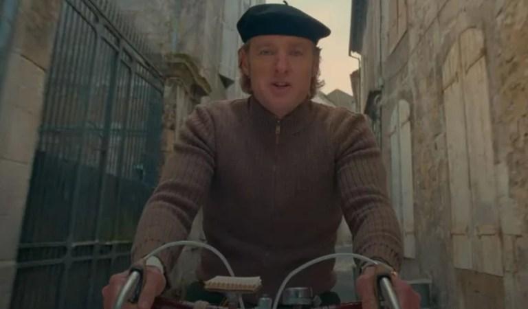 El teaser de French Dispatch de Wes Anderson muestra a Owen Wilson como ciclista-reportero