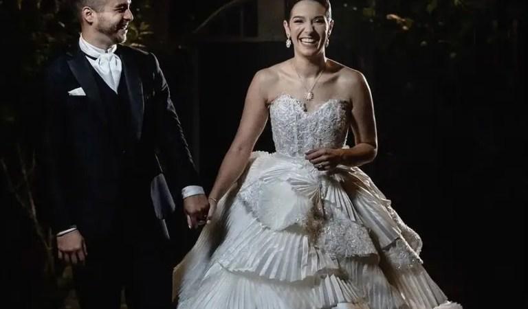 Hugo Espina y Maite Delgado le hicieron increíble regalo de bodas a Daniela Alvarado 👰🏻♀️✨