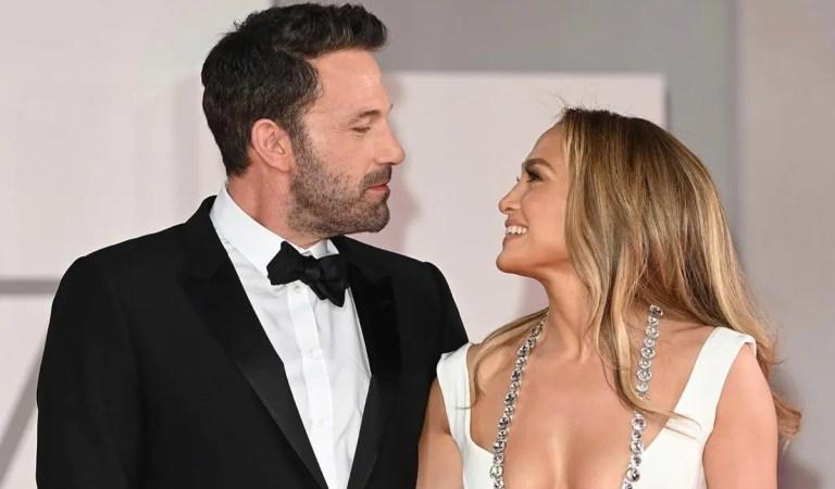 La pareja del momento: Jennifer Lopez y Ben Affleck juntos en el Festival internacional de cine en Venecia [BESO]