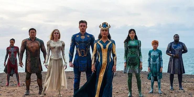Eternals de Marvel se estrenará antes en el Festival de Cine de Roma