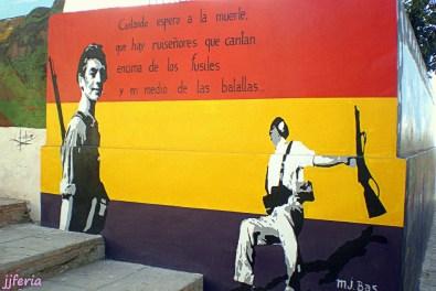 Mural del Barrio de San Isidro - foto jjferia