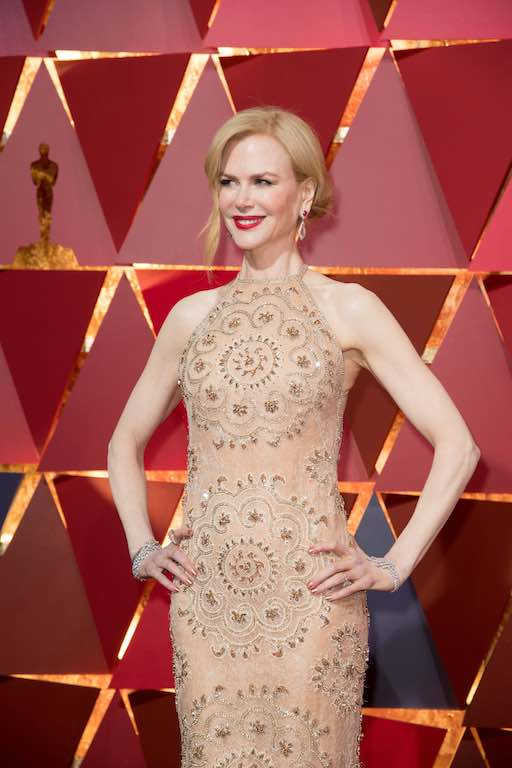 Nicole Kidman, Oscar® nominee, arrive on the red carpet of The 89th Oscars® at the Dolby® Theatre in Hollywood, CA on Sunday, February 26, 2017.