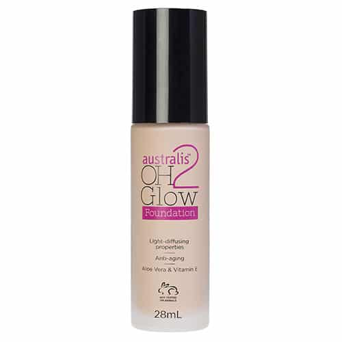 Australis - Oh 2 Glow Light Diffusing Foundation