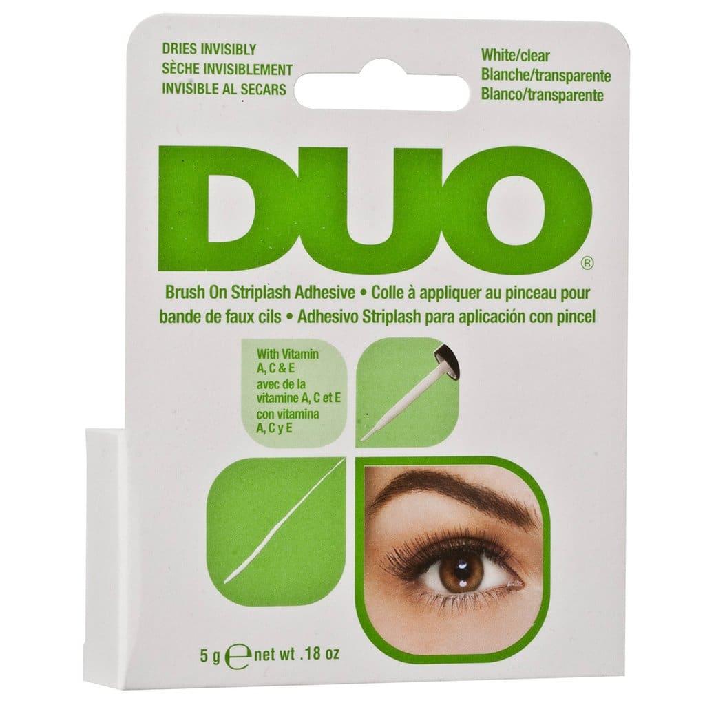 2e0e7eeee9d Duo - Brush On Striplash Adhesive White/Clear   Mask Line Cosmetics