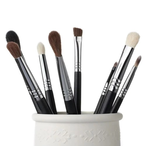 Jessup Pro Brushes Set Black Silver T091