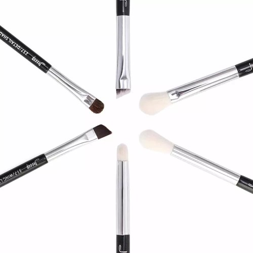Jessup Individual Brushes Set Black Silver T181