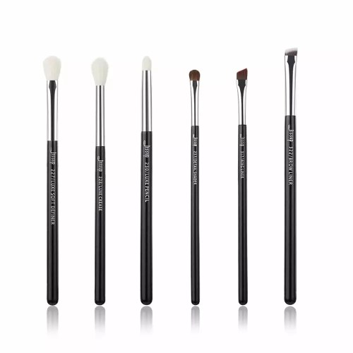 Jessup Individual Brushes Set Black Silver T181