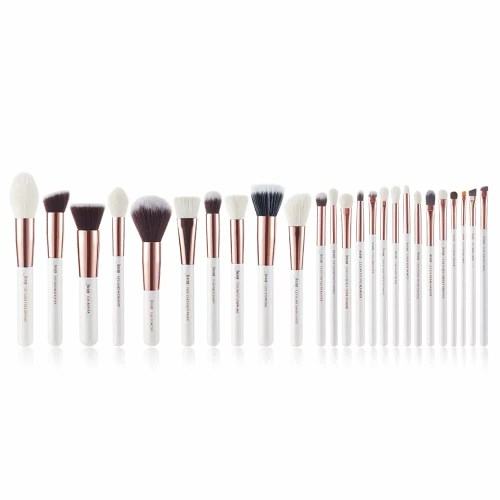 Jessup Individual Brushes White Rose Gold T215