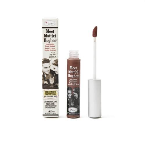 MEET MATT(E) HUGHES® - Long Lasting Liquid Lipstick, Reliable