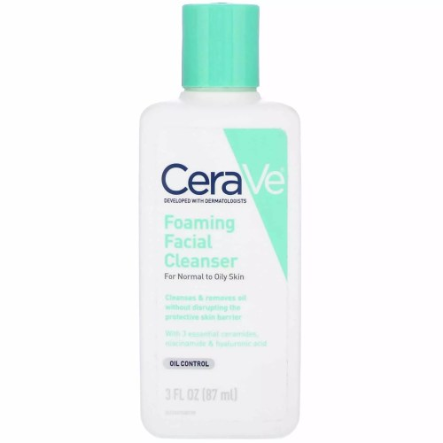 CeraVe, Foaming Facial Cleanser