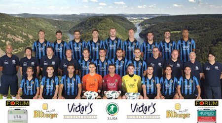 1. FC Saarbrücken - Mannschaftsfoto