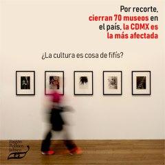 Por recorte, cierran 70 museos en el país, la CDMX es la más afectada