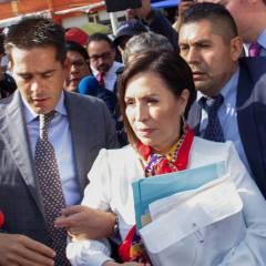 Dan 2 meses de prisión preventiva a Rosario Robles