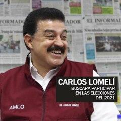 Carlos Lomelí busca participar en las elecciones de 2021