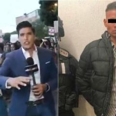 Detienen a sujeto que agredió a periodista durante la marcha feminista