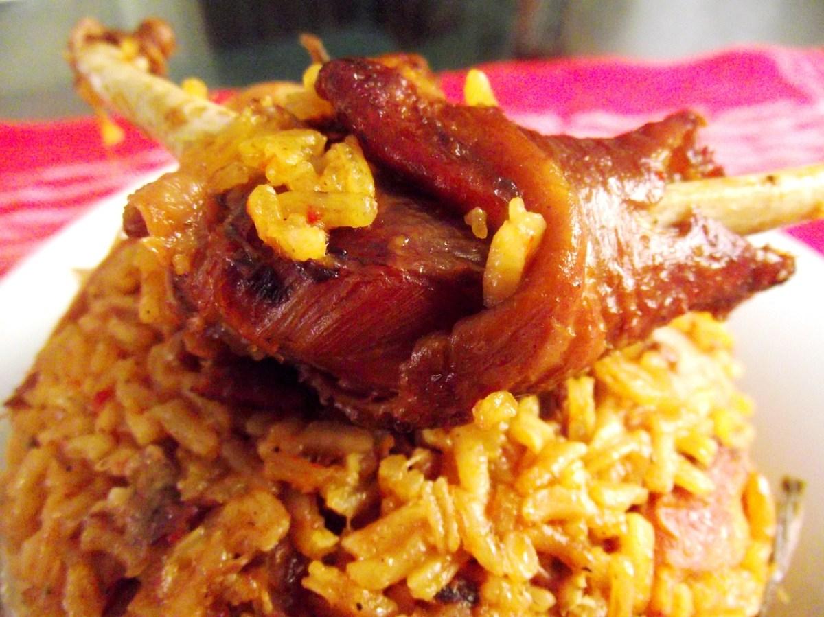 Secretos de la cocina dominicana Locrio de gallina