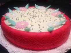 Deliciosa tarta con Buttercream