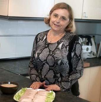 Lomo con salsa de almendras60