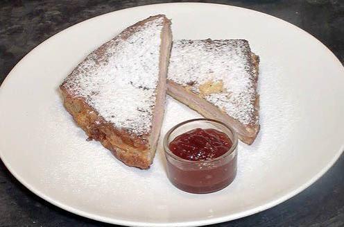 Sandwich Monte Cristo dulce38