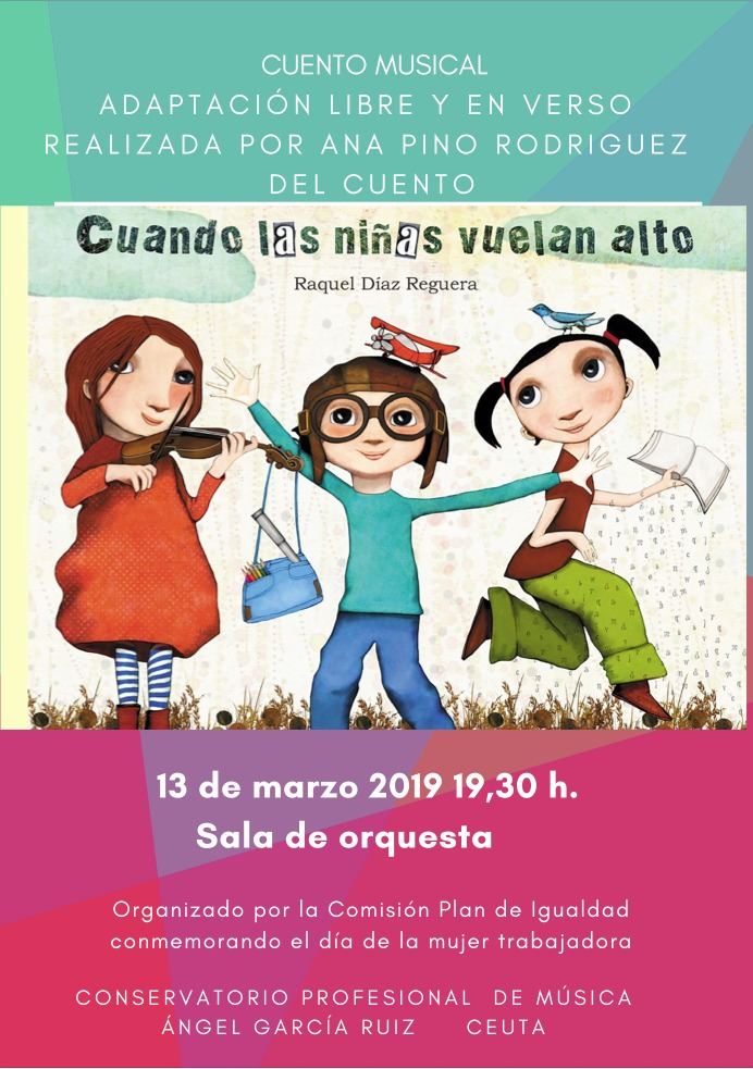 poster cuento musical conservatorio 8m